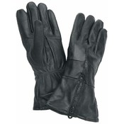 Diamond Plate Solid Genuine Leather Gloves- Medium