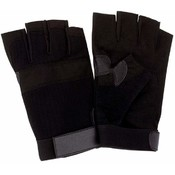 Diamond Plate 10 Pair of Half Gloves
