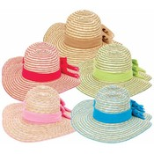 Ladies Floppy Sun Hats W Bands Wholesale Bulk