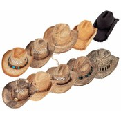 Assorted 10 Piece Shapeable Hat Set