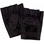 10pr Genuine Leather Half Gloves