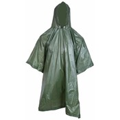 Green 100% Waterproof All Weather Poncho