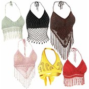 Casual Outfitters 6pc Ladies' Halter Top Set Wholesale Bulk