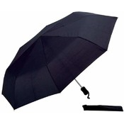 "All Weather 40"" Auto Open/ Close Umbrella Black"