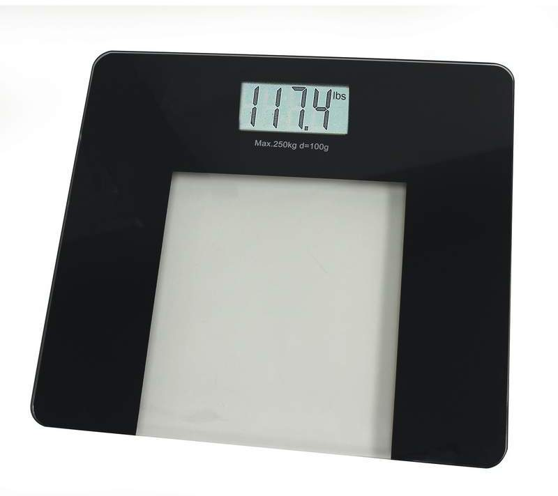 HealthSmart? Glass ELECTRONIC Bathroom Scale [2169189]