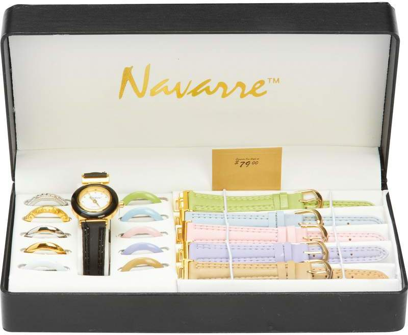 Navarre Ladies' WATCH with Interchangeable Bands and Faces [378519]