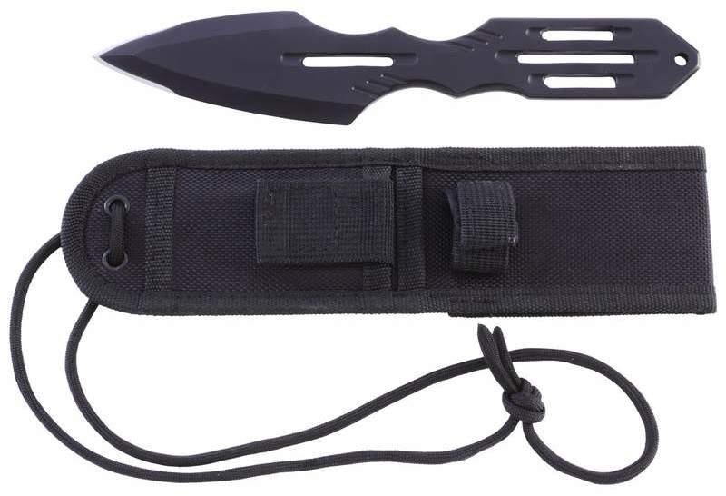 Maxam(R) Fixed Blade THROWING KNIFE with Nylon Sheath [1993849]