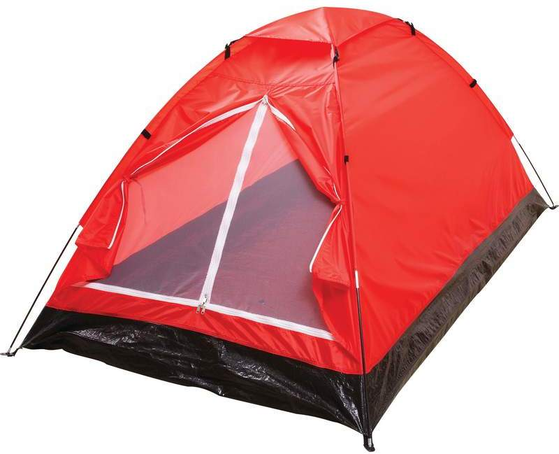 Maxam Extra-Long Red 2-Person TENT (1994104)