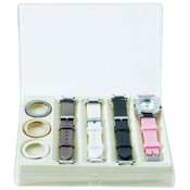 Ladies' Watch with Interchangeable Bands and Faces