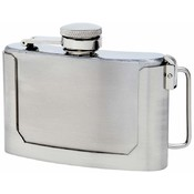 Maxam  3oz S/S Belt Buckle Flask