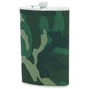 64oz Jumbo Stainless Steel Flask w/Camo Wrap
