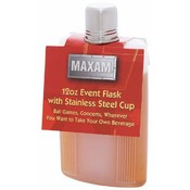 Maxam 12oz Event Flask with Stainless Steel Cup