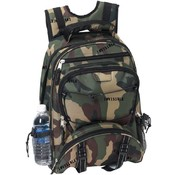 Invisible Pattern Camo Backpack