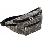 Extreme Pak Digital Camo Water-Repellent Waist Bag
