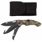 3-Blade Lockback Knife with Sheath Wholesale Bulk