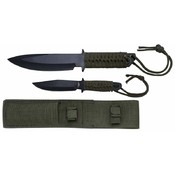 2pc Fixed Blade Knife Set Wholesale Bulk