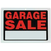 Maxam 10pc Sign Set- Garage Sale Wholesale Bulk