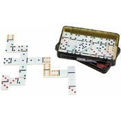 Maxam  28pc Double 6 Color Dot Domino Set