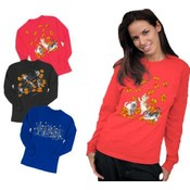 Ladies Fall Crewneck Sweatshirt