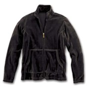 Hanes Womens Velour Zippered Jacket