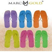 Marc Gold - Ladies Flip Flop 6- Solid Colors