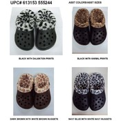 Mens Fur Lined Clogs