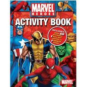 Marvel Heroes Activity Book