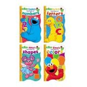 Sesame Street 5 x 8 Shaped Board Book