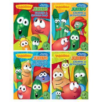Wholesale Veggie Tales Jumbo Coloring Activity Book (SKU 394305 ...