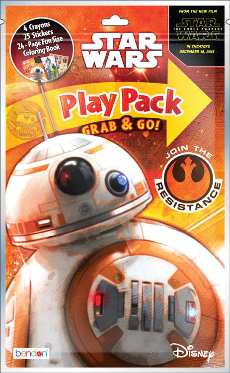 STAR WARS Episode VII Grab and Go Playpack [1931339]