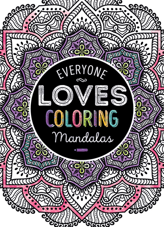 Wholesale Adult Coloring Book Everyone Loves