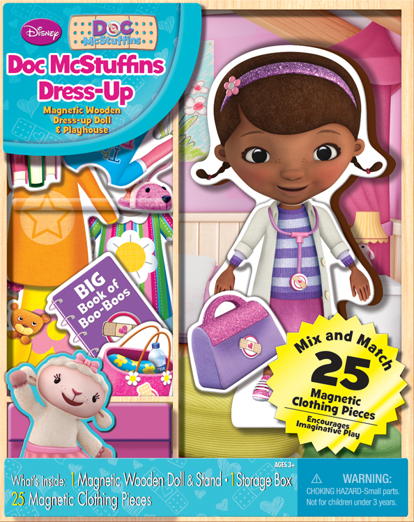 Doc McStuffins DRESS Up Set Toys [1931374]