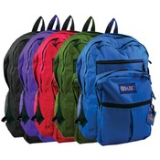 "BAZIC 17"" School Backpack"