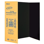 36&quot; X 48&quot; Black Tri-Fold Corrugated Board
