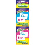 Bazic 36 Ct Addition & Subtraction Mini Flash Card