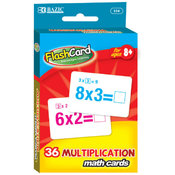 Bazic Multiplication Flash Card