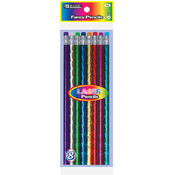 BAZIC Metallic Laser Foil Wood Pencil With Eraser