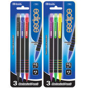 BAZIC Eclipse 0.5mm Mechanical Pencil w/ Clip Wholesale Bulk