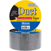 "BAZIC 1.89"" X 10 Yards Silver Duct Tape"