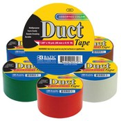 "Bazic 1.89"" x 10 Yard Assorted Colored Duct Tape"