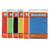 Assorted Prints Stretchable Fabric Book Covers