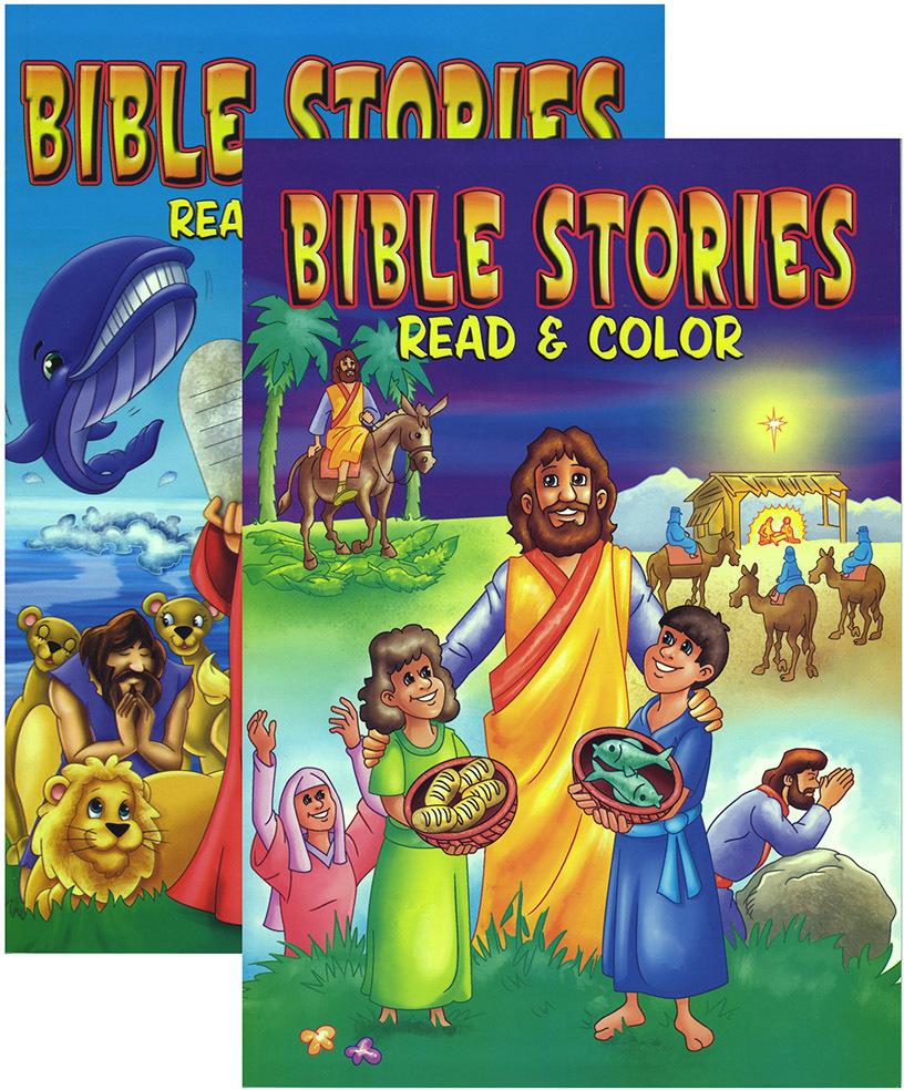 Bulk Bible Stories Coloring Book [782013]