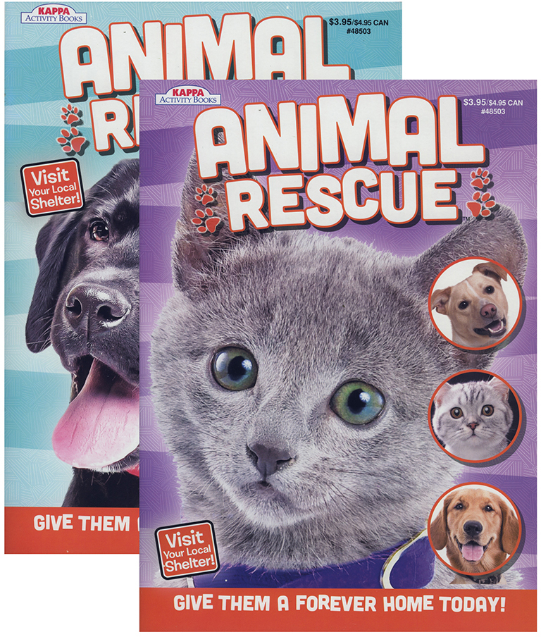 Wholesale KAPPA Animal Rescue Coloring Activity Book SKU 1931386 DollarDays