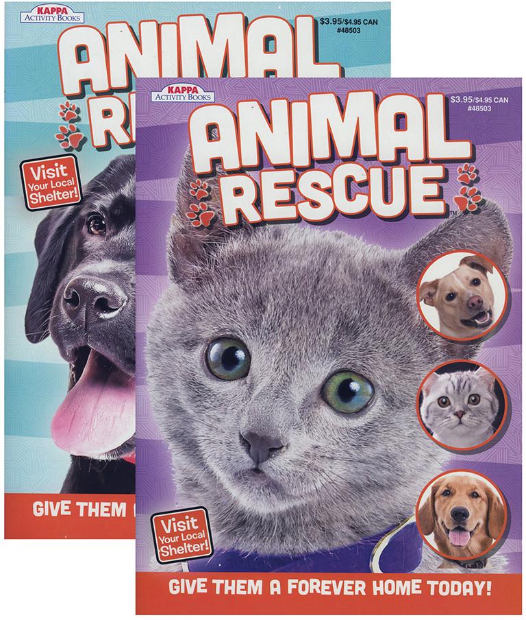 Wholesale KAPPA Animal Rescue Coloring Activity Book SKU 1931386 DollarDays