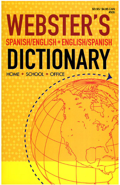Webster English-Spanish Dictionary (311516)