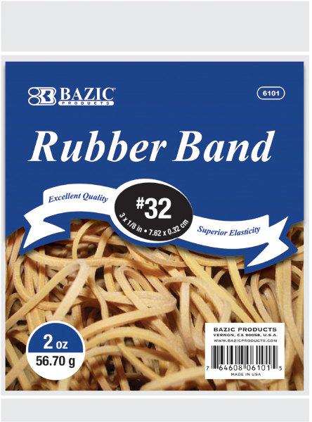 Bazic 2 oz./56.70g #32 RUBBER BANDS [1757821]