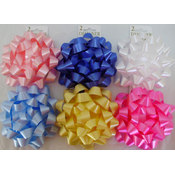 6' Confetti Bow Assortment Wholesale Bulk