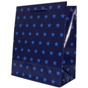 Medium Blue Stars Gift Bag