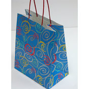 Swirly Q's Gift Bags - Medium