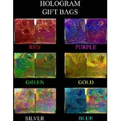 Cub All Occasion Holographic Gift Bags Wholesale Bulk